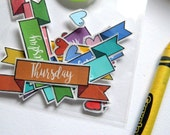Bullet Journal Sticker Pack.