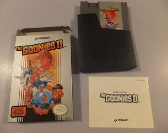 The Goonies II Original NES Nintendo Vintage Video Game Complete