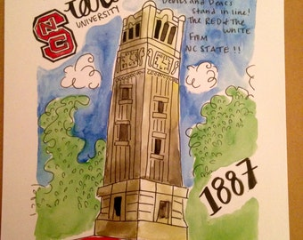 NCSU Bell tower