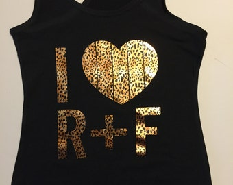 Leopard Foil I Heart R+F