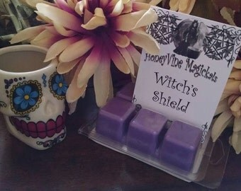 Witches Shield Clamshell Tart Wax melt