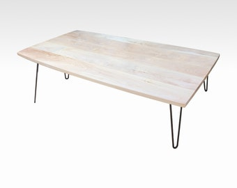 Modern Coffee Table in Natural Birch by Candlewood Furniture