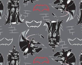 Batman Cotton Fabric Etsy