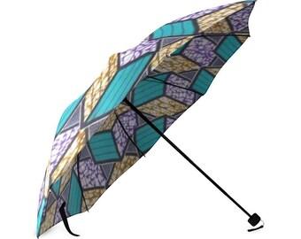 African ankarastyle print dashiki umbrella