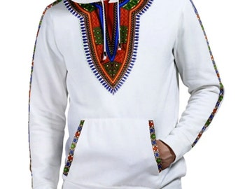 African dashiki jumper jacket hoodie