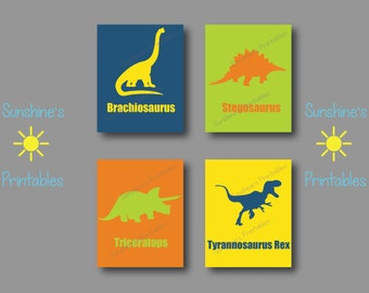 Dinosaur Wall Art  Dinosaur Wall Decor  Childrenu0027s Wall Art  Little Boys Wall  Art Part 95