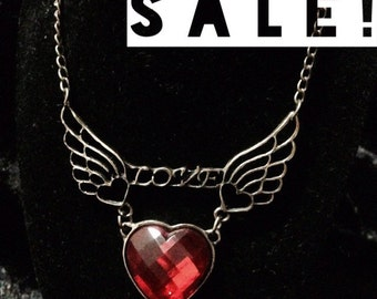 SALE! Wings of love pendant necklace