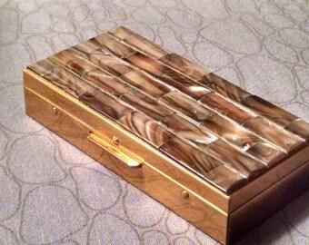 Cigarette box pill box stash box