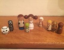 Star Wars Nativity Set - Unique Gift - Star Wars - Christmas Nativity Set