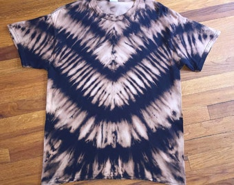 Bleached Tie Dye T-shirt