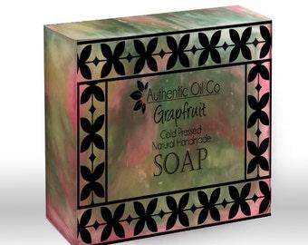 Grapefruit Traditional cold press handmade soap 80g