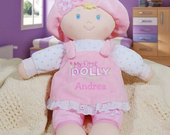 Baby gift ideas etsy first doll first toy baby gifts personalised baby gifts baby gift ideas negle Image collections