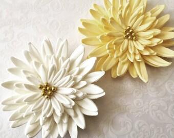 3 Gerbera Daisy Fondant Flower I 3 Gerbera Daisy Gumpaste Flower I Fondant Flower Gumpaste Flowers Sugar Flowers Cake Toppers Edible Flowers