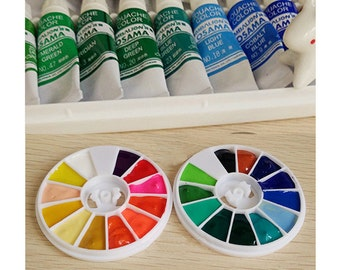XiongShi Watercolor 24 Colors 1ml Set Academic Watercolor Set