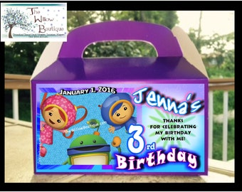 UMIZOOMI BIRTHDAY PARTY Assorted Products Personalized with your childs name etc.