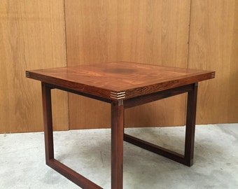 Rosewood sidetable from Rud thygesen mid century danish design
