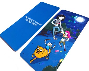 Prism Bookmark - Bubbline - Stakes - Marceline Abadeer - Princess Bubblegum - Finn - Jake - Adventure Time