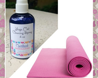 Yoga Mat Cleaning Spray, Aromatherapy Cleaner