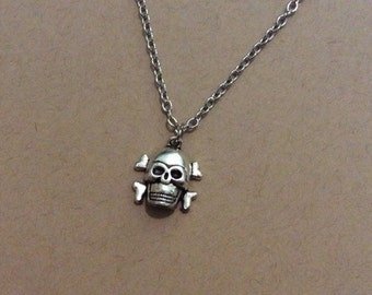 Skull Charm Necklace