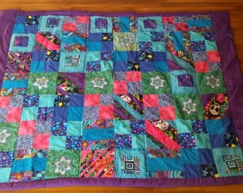 Patchwork Quilt - Crib/Youth Size