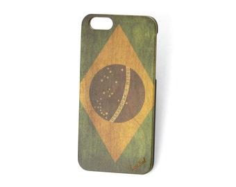 iPhone 7 case iPhone 6s case iPhone 6 case iPhone 7 plus case iPhone 6s plus case iPhone 6 plus case Vintage Flag of Brazil