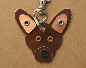 Xoloitzcuintle Pet Tag Dog ID Metal Keychain