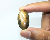 Natural Strong Fire Labradorite Oval Cabochon 31x19x6 mm (2)