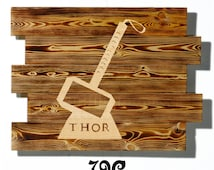 Thor Wall Art wooden yarn bowl,wooden yard art,wooden yard signs,wooden yarn holder,wooden yoyo,wooden zebra,wooden watch,