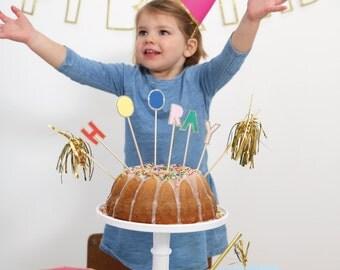 Meri Meri HOORAY cake topper