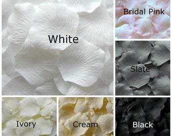 Silk Rose Petals, 3000 petals, Neutral Shades