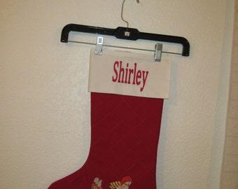 Personalized Custom Christmas Stocking