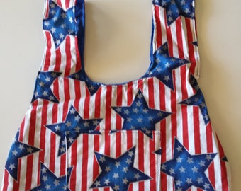 Red, White & Blue Tote Bag