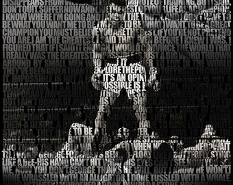 Muhammad Ali Quotes Poster