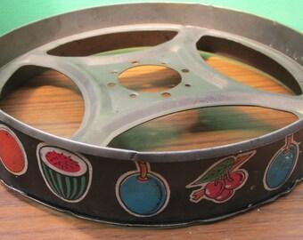 Vintage 1950s Fruit Machine Reel