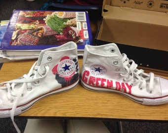Green Day Inspired Shoes