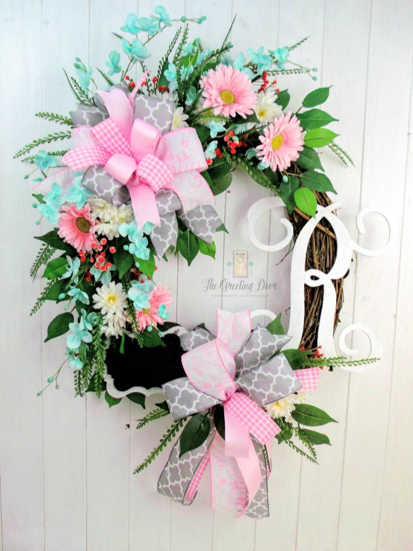 baby girl wreath baby shower wreath it 39 s a girl wreath