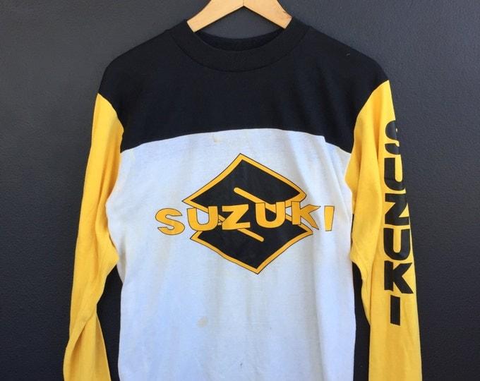 Suzuki Motocross vintage Longsleeve