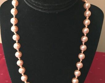 Vintage Pink Pearls
