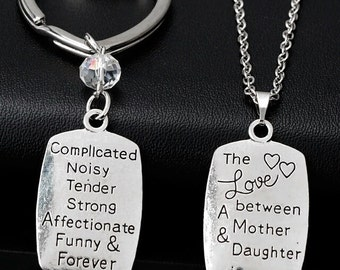 Love the between Mother & daughter  necklace
