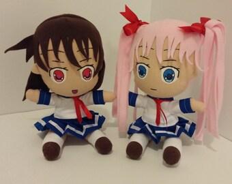 Saki and Nodoka Plushies