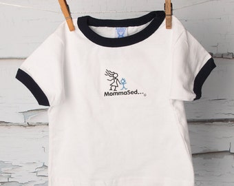 MommaSed…® Play Nice – Boy's Tee