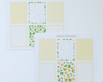 Lemon Fresh Theme (EC Vertical) Stickers