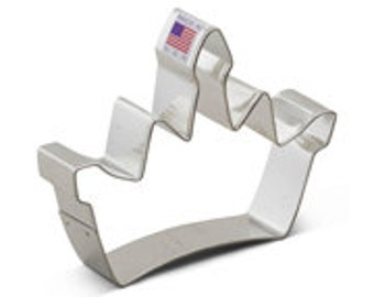 Crown Cookie Cutter 4""