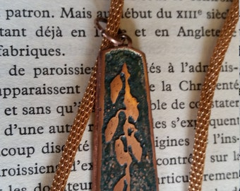 Copper and Rose Gold Necklace