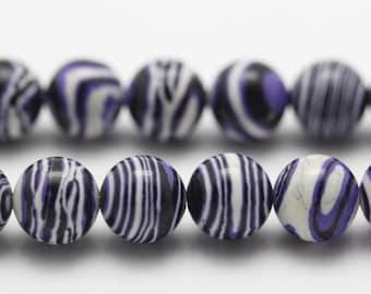 Zebra Stripe Stone Etsy