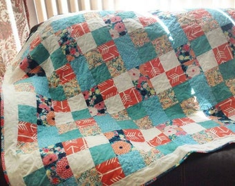 Patchy Lap Quilt