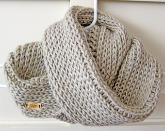 Triple Luxe Cowl, Infinity Scarf