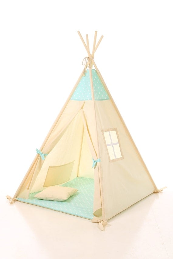 Like this item?  sc 1 st  Etsy & Kids teepee play tent wigwam childrenu0027s teepee tipi