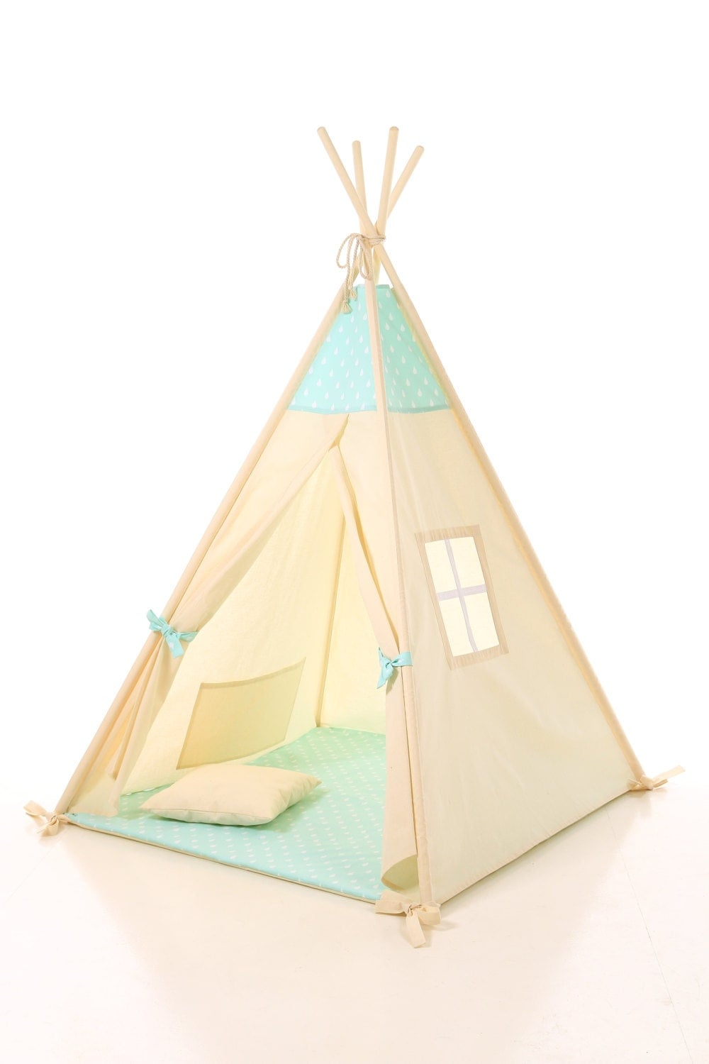 Kids Teepee Play Tent Wigwam Children 39 S Teepee Tipi