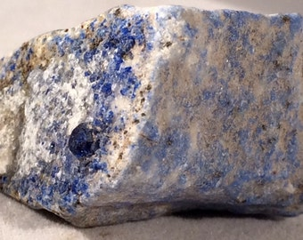 Lazurite - Rough Lapis Lazuli in Original Matrix